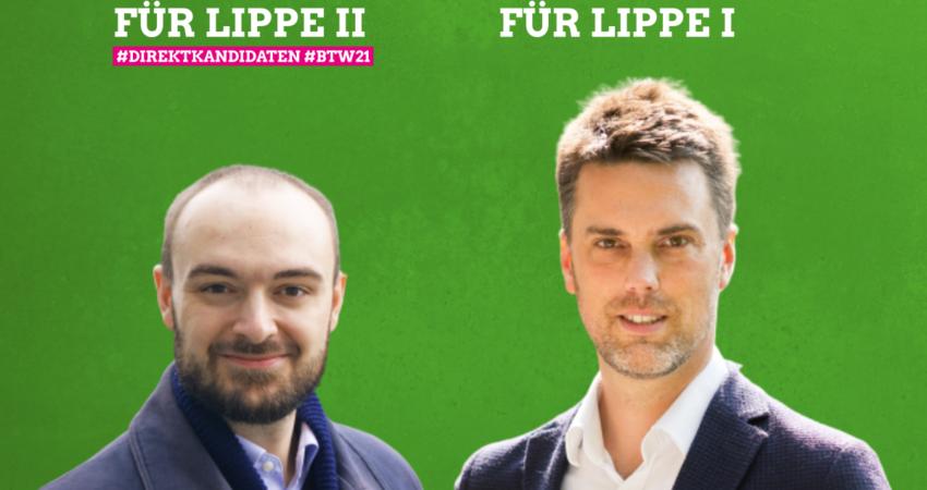 Direktkandidaten Lippe I und Lippe II